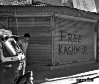 Graffiti (Location: Srinagar Downtown)