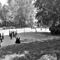Presence of military inside school campus (Location; Baramulla)