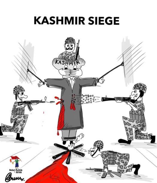 REBEL POLITIK Kashmir is bleeding